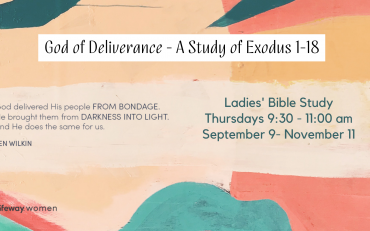 God of Deliverance - A Study of Exodus 1-18 (1)